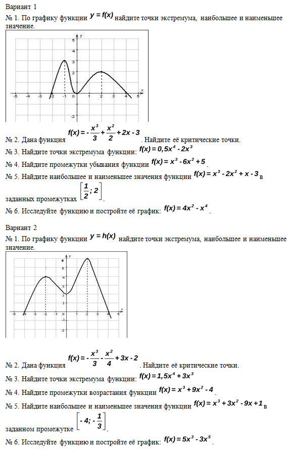 Алгебра ГОУСПб Контрольная работа